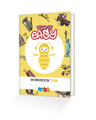 Cover werkboek groep 7-8B take it easy