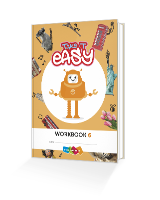 Cover workbook groep 6 take it easy