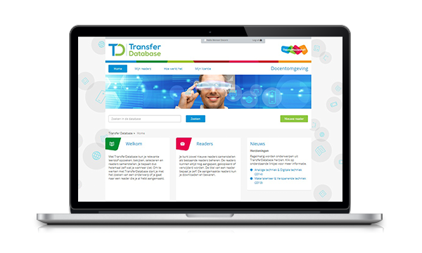 Transfer Database digitaal