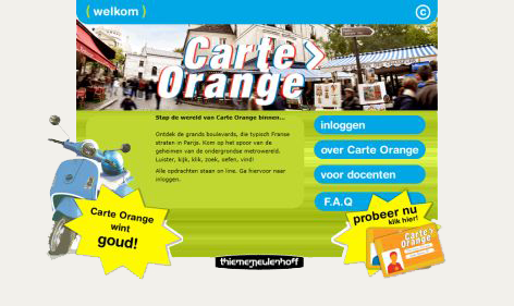 Carte Orange 1e editie